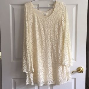 UMGEE Lace Dress in Cream